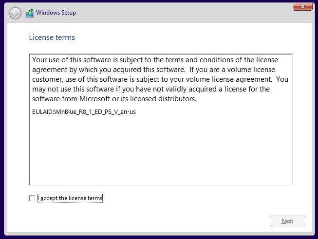 Windows 8.1 Vultr ISO install 3