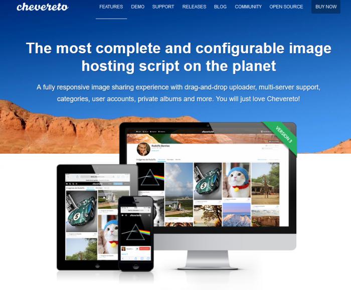 Chevereto webp site 2019