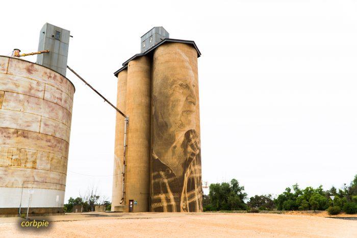 Lascelles silo art silo trail 2019 1