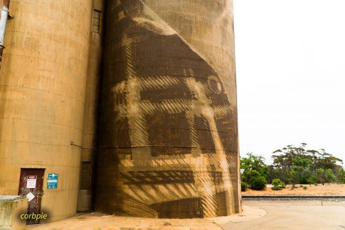 Lascelles silo art silo trail 2019 2