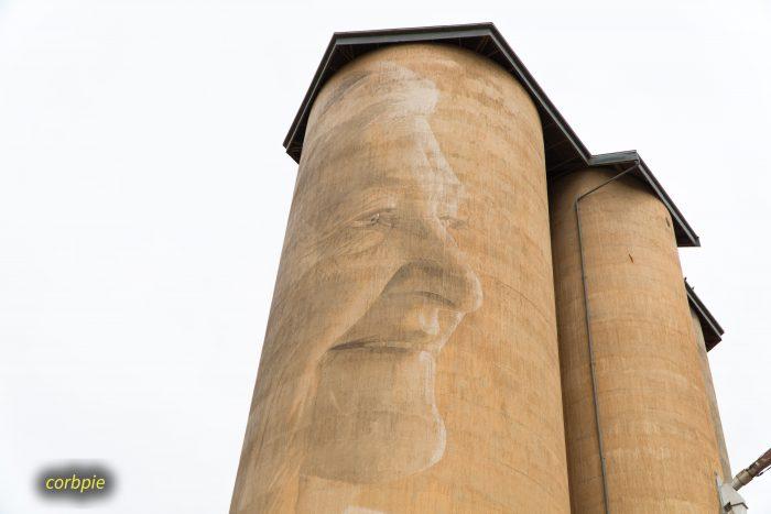 Lascelles silo art silo trail 2019 3