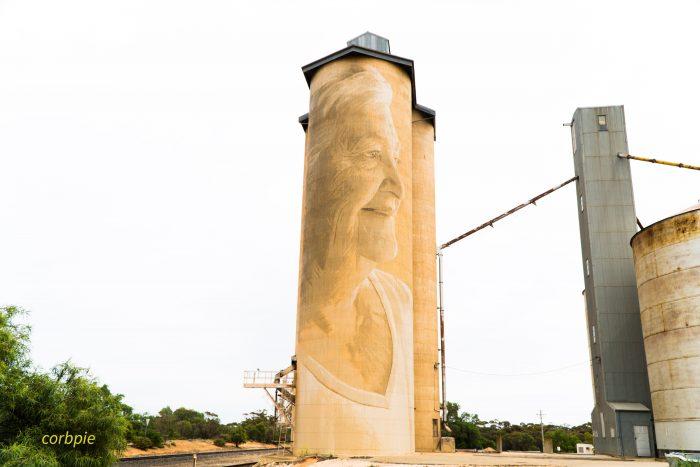 Lascelles silo art silo trail 2019 4