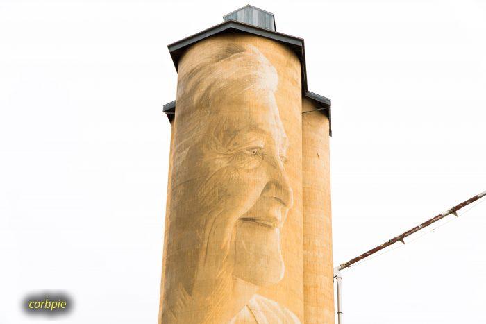 Lascelles silo art silo trail 2019 5