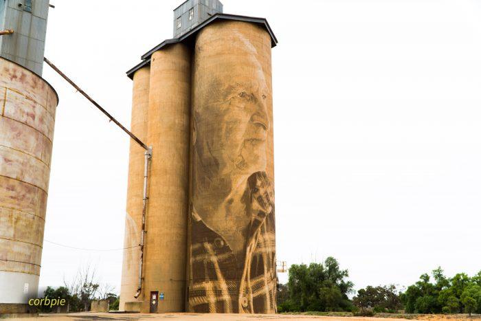 Lascelles silo art silo trail 2019