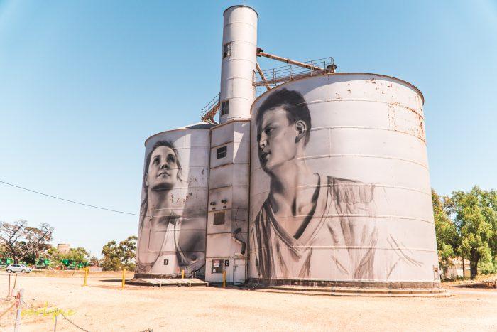 Rupanyup silo art Silo trail 2019 1