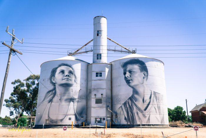 Rupanyup silo art Silo trail 2019