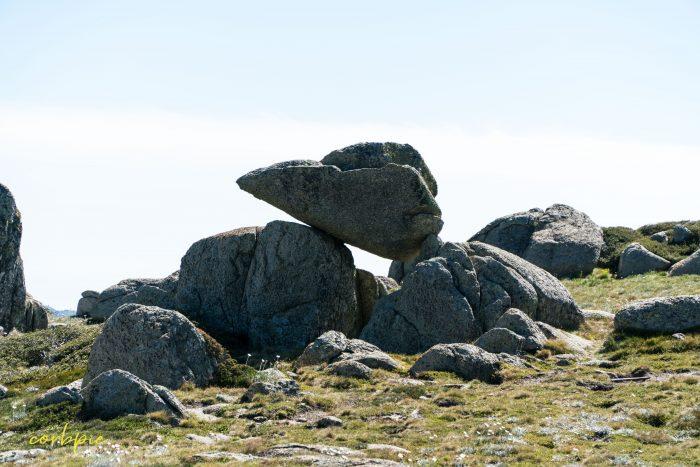 rock formation Mt Kosciuszko Summer 2019