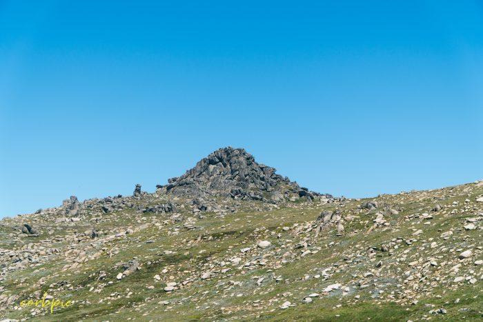 rock structure Mt Kosciuszko Summer 2019